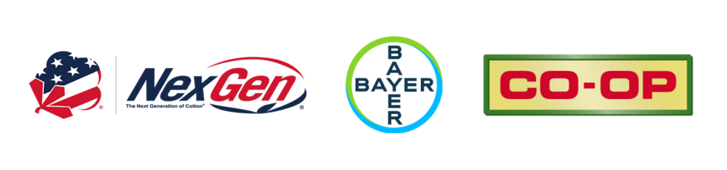 NextGen, Bayer and Co-op logos